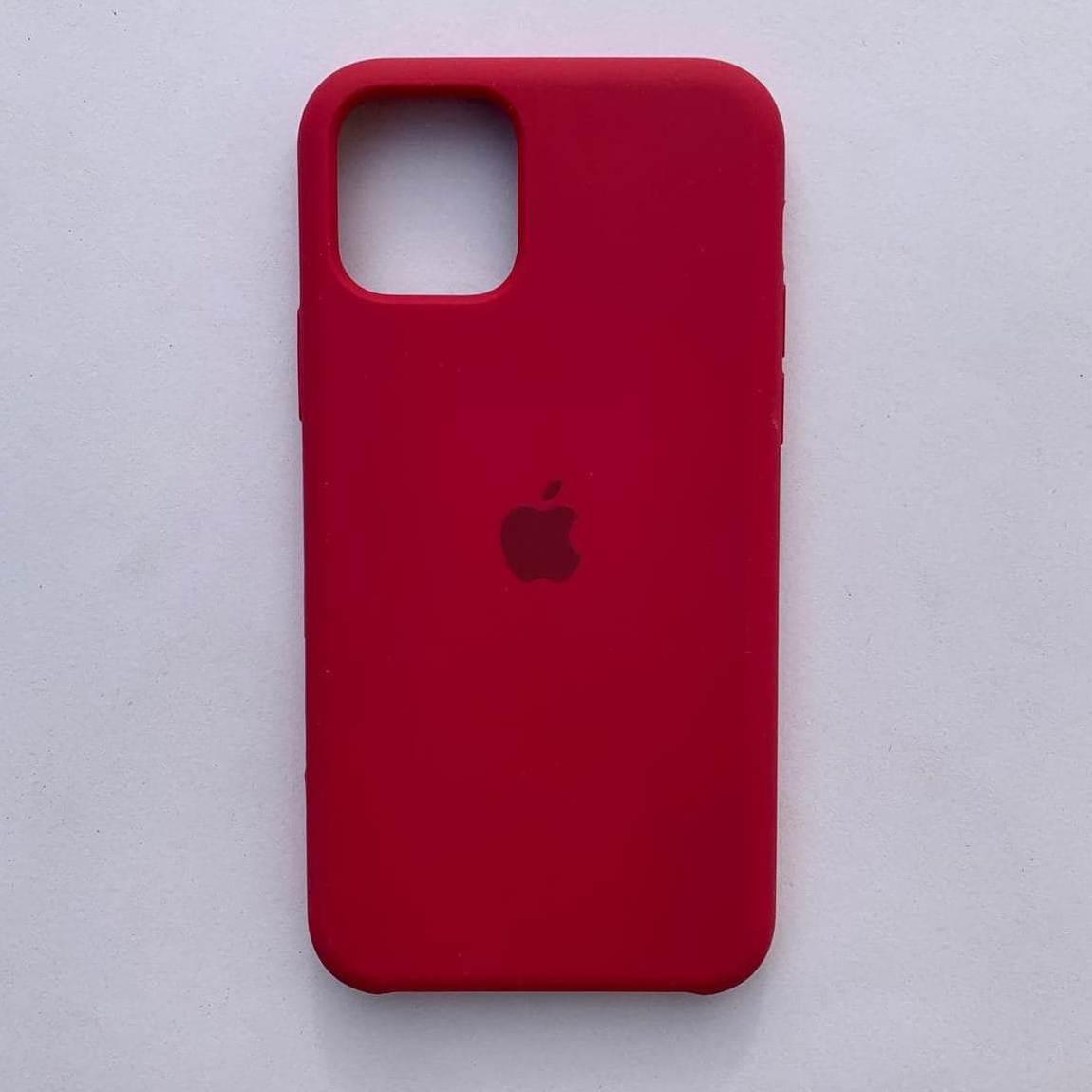 Чехол Silicone Case для Apple iPhone 11 Pro Max Rose Red