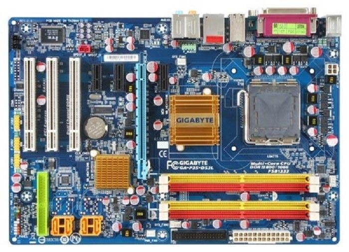 ТОПОВАЯ Плата S775 GIGABYTE GA-P35-DS3L УЦЕНКА-СЕТЬ! Понимает 8GB DDR2 + АБСОЛЮТНО ВСЕ - XEON, QUAD, DUO