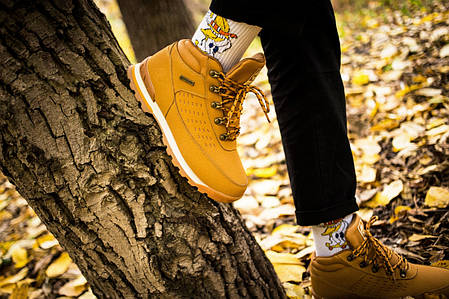 Мужские ботинки Timberland Keep Warm Biege (Реплика), фото 2