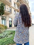 Женское пальто каржиган с карманами турецкое букле размер батал:50/52,54/56, фото 2
