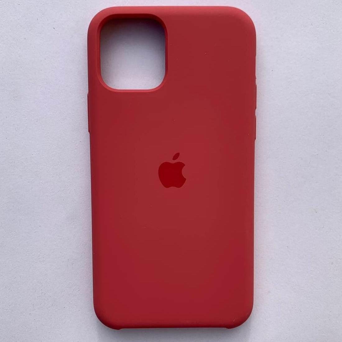 Чехол Silicone Case для Apple iPhone 11 Pro Max Strawberry