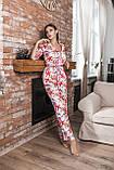 Женская пижама штанами шелковая Kaiza, фото 2