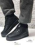 Кроссовки мужские Nike Air Force 1 в стиле найк форсы НА МЕХУ (Реплика ААА+), фото 2