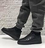 Кроссовки мужские Nike Air Force 1 в стиле найк форсы НА МЕХУ (Реплика ААА+), фото 5