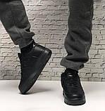 Кроссовки мужские Nike Air Force 1 в стиле найк форсы НА МЕХУ (Реплика ААА+), фото 7