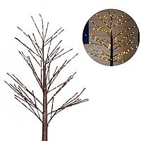 Светодиодное дерево, декорация LED | 1,5 м. Желтый свет