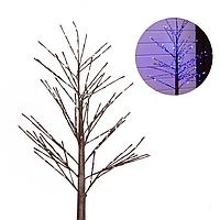 Светодиодное дерево, декорация LED | 1,5 м. Белый свет