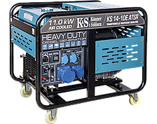 Дизельный генератор Könner&Söhnen KS 14-1DE ATSR (11 кВт, 220B, ATS)