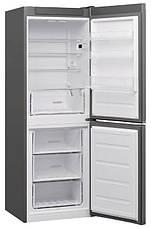 Холодильник з морозильною камерою Whirlpool W5 711E OX, фото 2