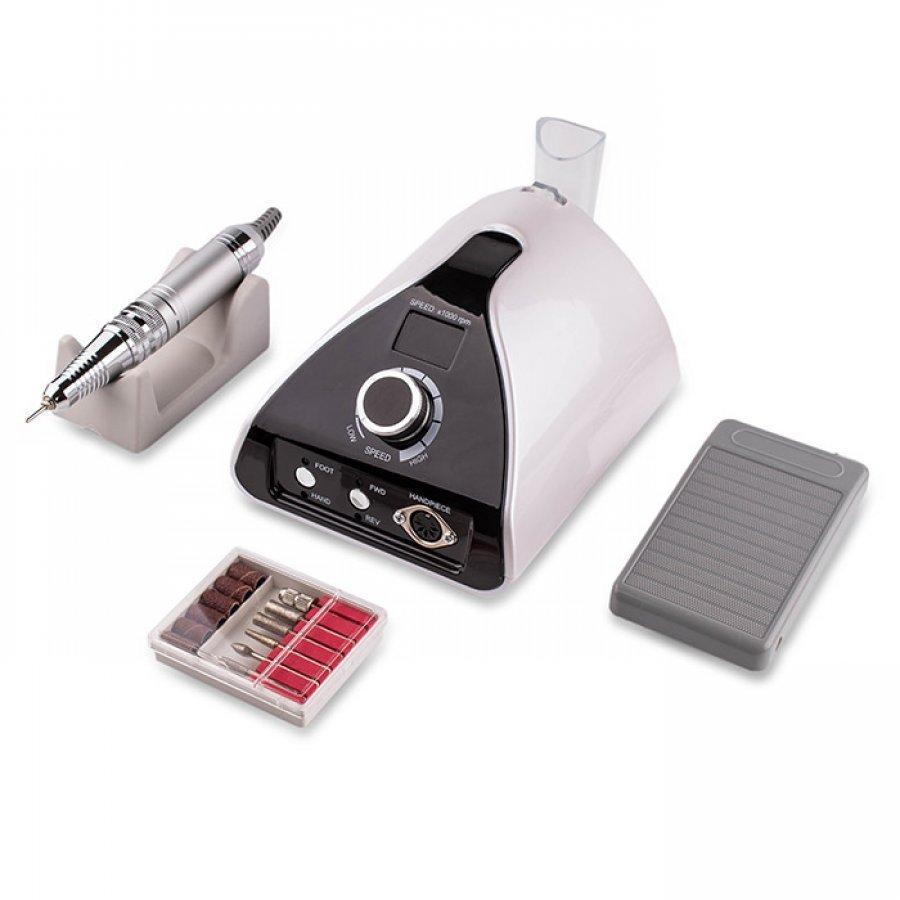 Фрезер для манікюру Nail Drill ZS-711 PRO White 65 Ват, 35 000 об