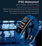 Smart Watch S5 спортивные Смарт-часы браслет c цветными ремешками ( Черный, Синий, Красный ), фото 5