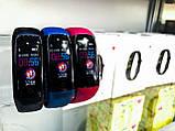 Smart Watch S5 спортивные Смарт-часы браслет c цветными ремешками ( Черный, Синий, Красный ), фото 7