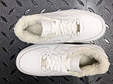 Кросівки чоловічі Nike Air Force 1 в стилі найк форси НА ХУТРІ (Репліка ААА+), фото 4