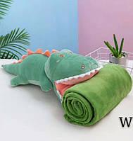 Дитяче покривало і іграшкою Крокодильчик