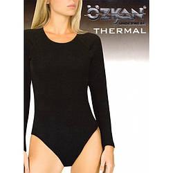 Боди женское термо, с длинным рукавом, Ozkan (размер L)