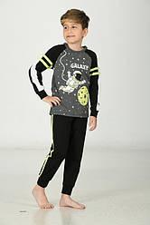 Комплект для мальчика демисезонный (футболка длинный рукав+штаны) Ozkan (размер 3-4лет.)