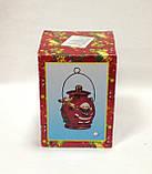 Фонарь светодиодный, 12х7,5х7,5 см, Санта Клаус, керамика, Новогодние сувениры, фото 3