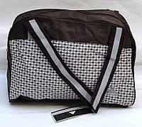 Спортивная женская сумка adidas brown
