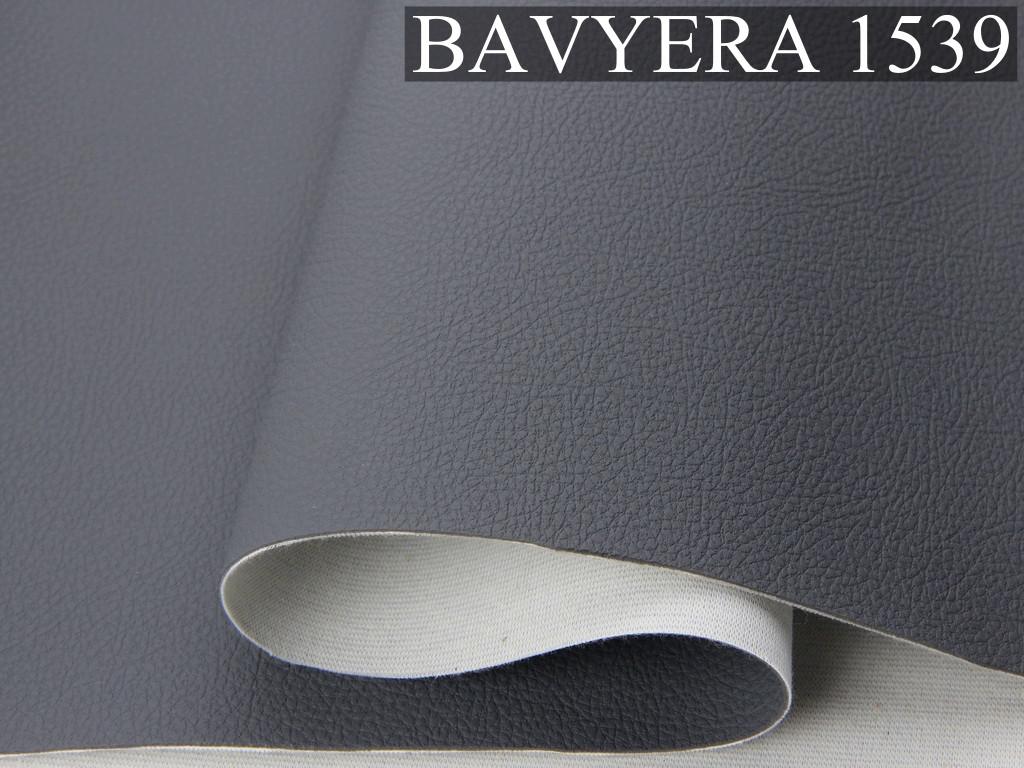 Автомобльний кожзам BAVYERA 1539 темно-серый, на тканевой основе (ширина 1,40м) Турция