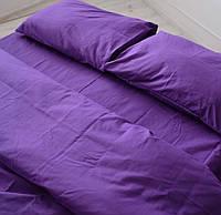 Семейное постельное белье Gold фиолетовый