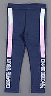 Лосины утепленные для девочек, 110-128 pp. Артикул: 47-7726-синий