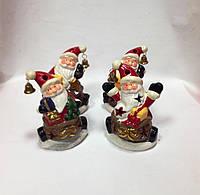 Фигурка новогодняя, Дед мороз с колокольчиком, 13х8,5х7 см, Новогодние сувениры, Днепропетровск, фото 1