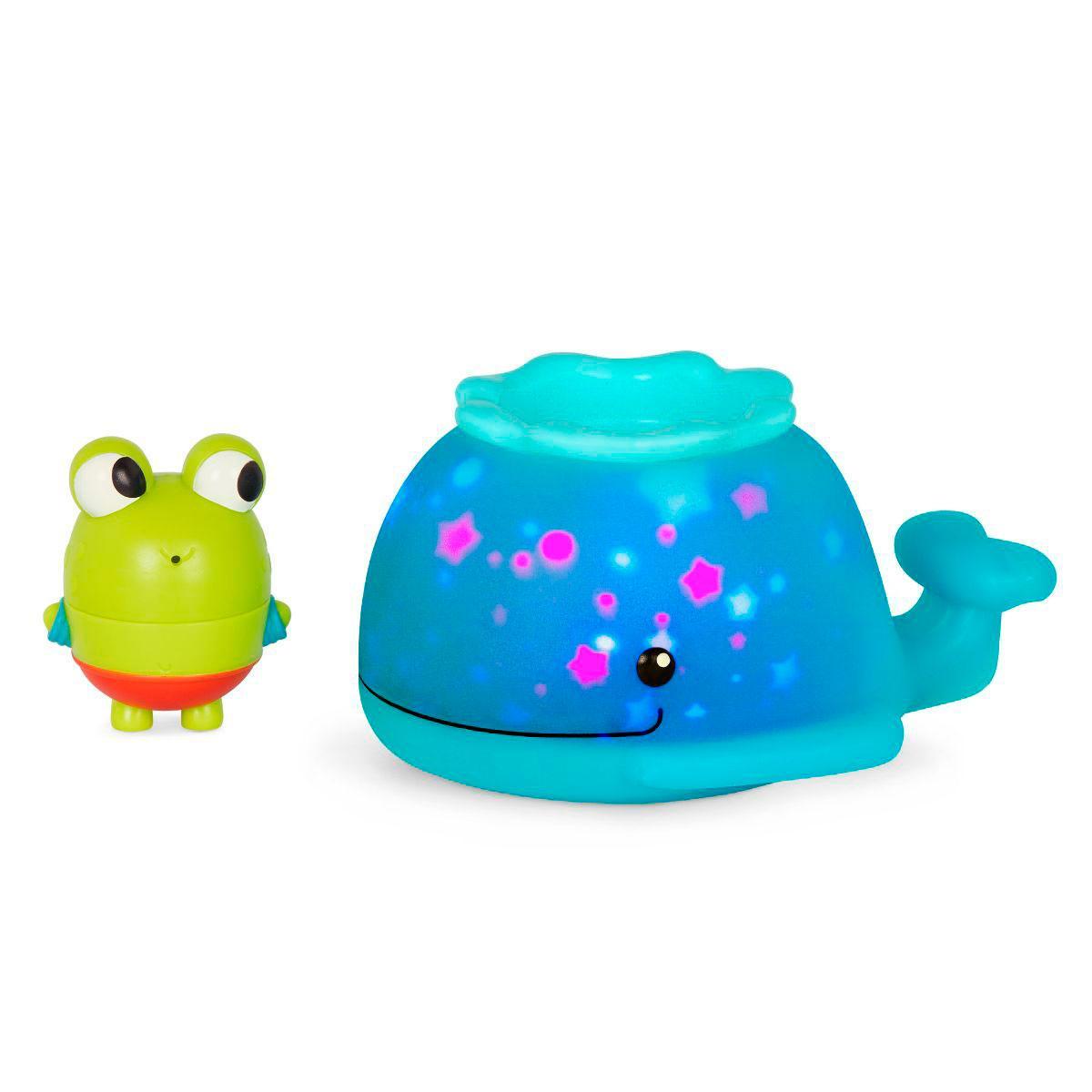 Игровой набор для ванны - Светящийся Китенок Battat Land of B. Glow & Splash Light-Up Glow Whale LB1712Z