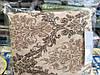Постільна білизна Євро розміру жатка Тирасполь бежево-коричневий колір