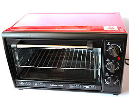 Электродуховка Liberton LEO-350 Red  (35 л)
