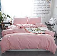 Двоспальне постільна білизна Gold блідо-рожеве