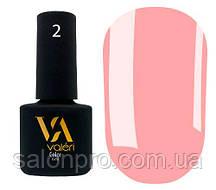 Гель-лак Valeri Color № 002 (светло-розовый, эмаль), 6 мл