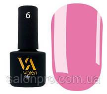Гель-лак Valeri Color № 006 (сиренево-розовый, эмаль), 6 мл