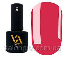 Гель-лак Valeri Color № 009 (кораллово-розовый, эмаль), 6 мл