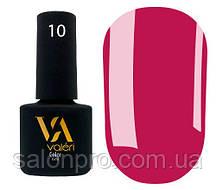 Гель-лак Valeri Color № 010 (темно-розовый, эмаль), 6 мл