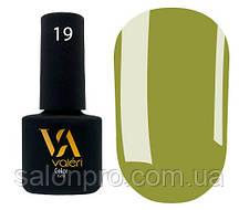 Гель-лак Valeri Color № 019 (оливка, эмаль), 6 мл
