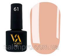 Гель-лак Valeri Color № 061 (карамельный, эмаль), 6 мл