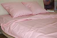 Двоспальне постільна білизна Gold світло-рожеве