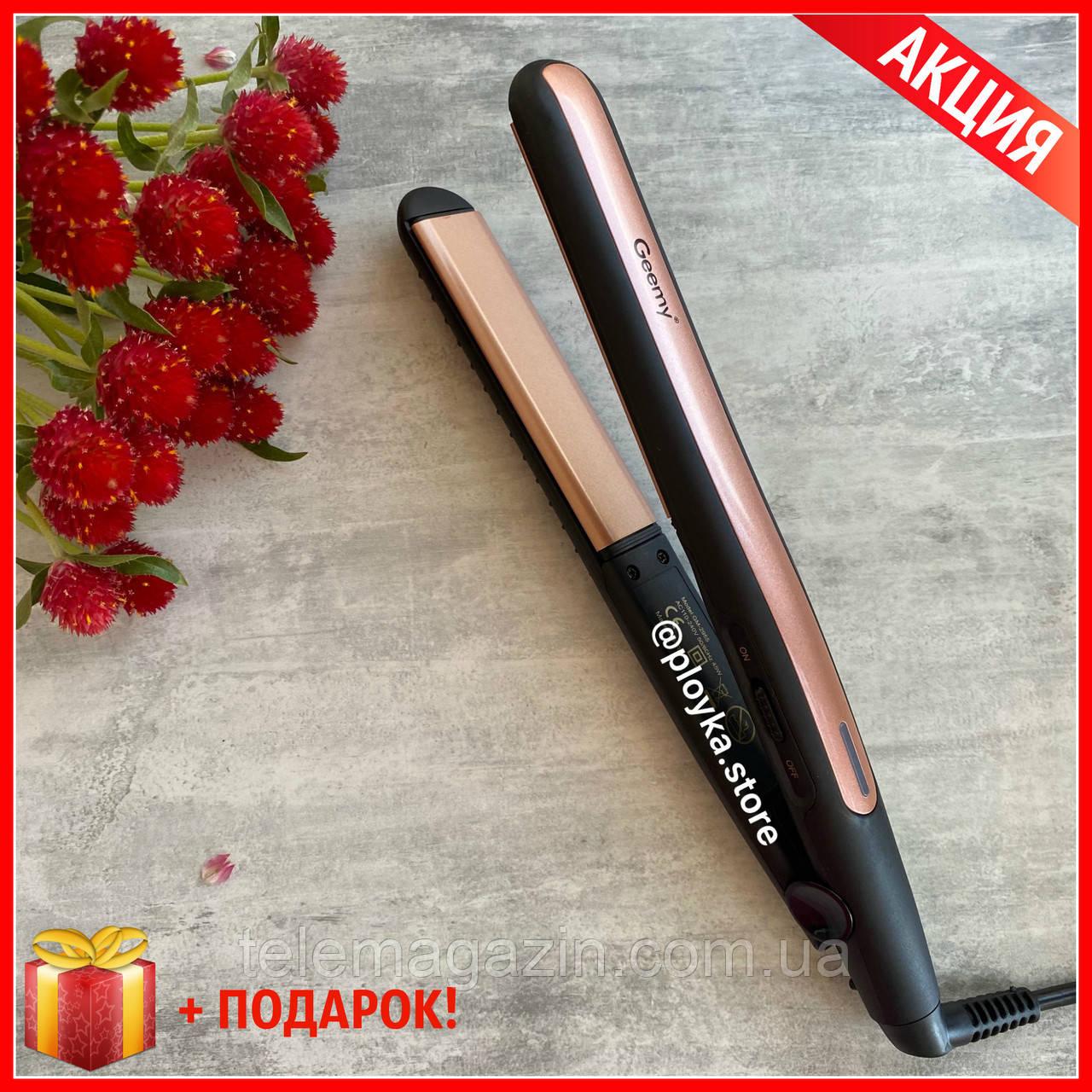 Утюжок для волос Geemy GM-2955 ОРИГИНАЛ Выпрямитель + Подарок