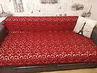 Покривало на диван вензелі