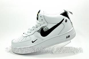 Зимние кроссовки унисекс Nike Air Force 1 '07 Lv8 Utility Mid Белые