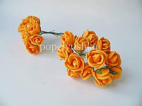 Троянди латексові оранжеві