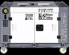 Генератор дизельный Könner&Söhnen KS 14-2DE 1/3 ATSR (10 кВт, 220/380V, Silent)