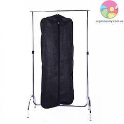 Чохол для верхнього одягу з ручками 60*150*15 см (чорний)