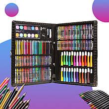 Набір для малювання та творчості,Валізка з фломастерами,олівці для дітей,Art Set 228 предметів