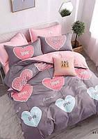 Семейное постельное белье Gold love