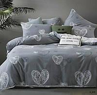 Семейное постельное белье Голд сердечка
