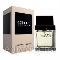 Carolina Herrera Chic for men - туалетна вода - 60 ml, мужская парфюмерия ( EDP8362 )