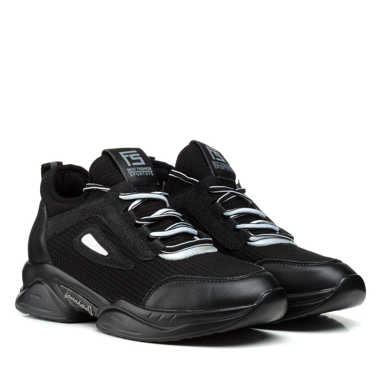 Кросівки жіночі чорні на платформі Lifexpert 37