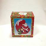 Дед Мороз на луне, сувенир новогодний,12Х8Х8 см, статуэтка, керамика, Днепропетровск, фото 2