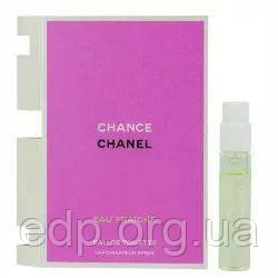 Chanel Chance Eau Fraiche - туалетная вода -  пробник (виалка) 1.5 ml, женская парфюмерия ( EDP27519 )
